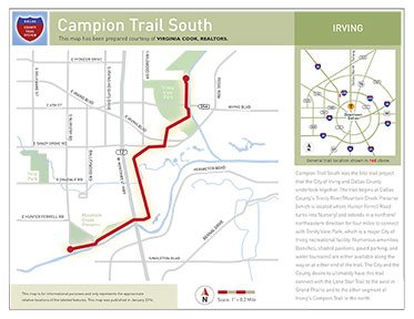 campion south map