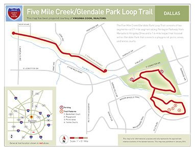 five mile trail map